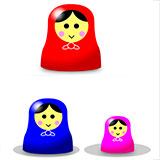 Tower of Hanoi Matryoshka